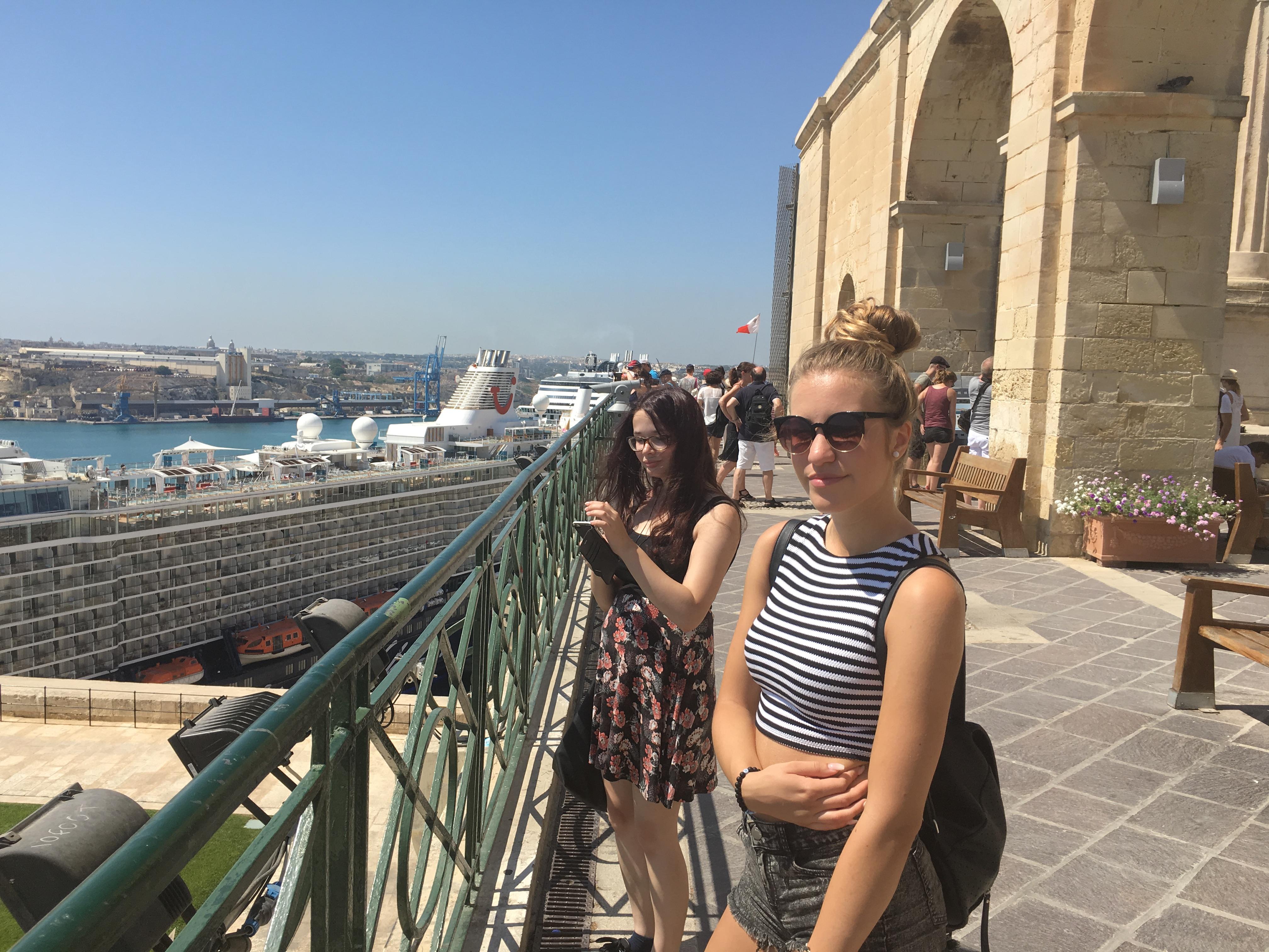 Jazykové pobyty - spoznávanie Valletty