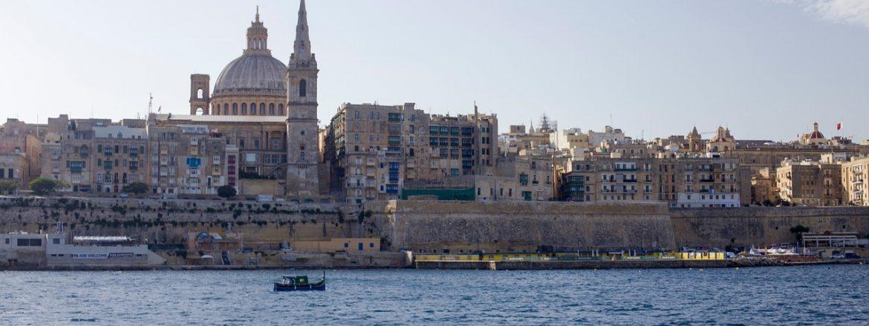 Valletta - hlavné mesto Malty