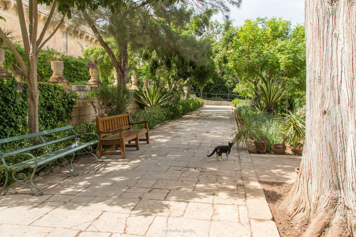 San Anton Garden Malta - najromantickejšie miesta Malty